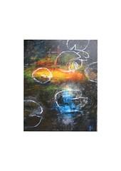 Seerosen (Joachim Weigt) Tags: joachim acky seerosen weigt acrylbild acrylgemälde seerosenbilder