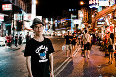 Kenting Night Market () (dyorex) Tags: street portrait people night asian person chinese taiwan nightmarket    kenting asianboy ordinarypeople chineseboy