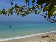 Playa blanca, Isla Baru (RdZ.Ana) Tags: blue beach colombia playa isla baru caribe