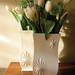 1950's Red Wing Charles Murphy Starburst Vases