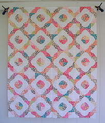 Drunkard's Path Quilt Top (jenniferworthen) Tags: quilt sewing quilting drunkardspath