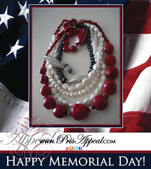 Memorial Day with PrisAppeal (Pris Appeal) Tags: fashion jewelry pearls styling firstlady redvelvetcake prissy redcoral prisappeal
