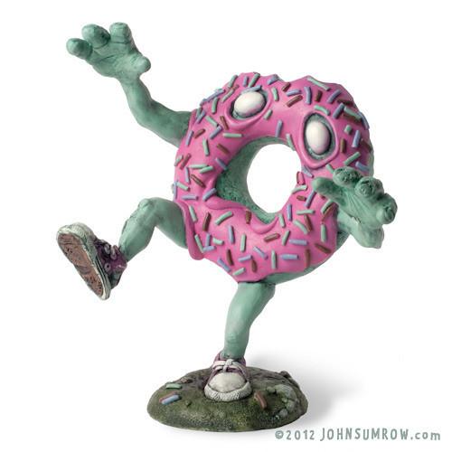 想像力十足!甜甜圈殭屍來了!