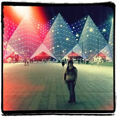 We're inside the #Crystal hall in #Baku at #eurovision