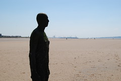 120526 Marple parkrun 180 (Nozza Wales) Tags: uk sculpture men art beach public liverpool place castiron another antony gormley crosby anthonygormley sefton anotherplace