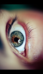 Aly's Eye (Cyrielle Beaubois) Tags: iris canada macro eye look canon eos eyelashes mark tubes oeil yeux mai ii qubec 5d eyelash 2012 regard beauce kenko pupille extented canoneos5dmarkii cyriellebeaubois