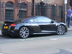 1668 - Audi R8 V10 - 59 plate (Call the Cops 999) Tags: city birmingham 26 centre may saturday plate audi 59 2012 r8