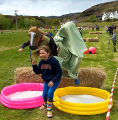 The water jump (Feis Alligin) Tags: 2012