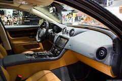 Startech Jaguar XJ Interior (Lucinho Photography) Tags: detail canon eos interior salone jaguar ginevra 2012 xj startech 18135mm 60d efs18135mmis