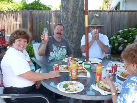 GGDC June 2, 2012 meeting held at Tom & Janets home in San Jose