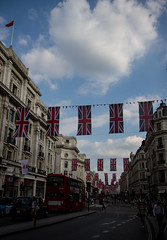 Jubilee (Sally Dunford) Tags: regentstreet sally londonbus unionflags canon1755mm canon7d jubileeweekend