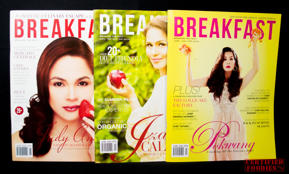 Breakfast Magazine first 3 issues for 2012