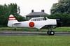 North American Harvard IIB G-AZSC 04 North Weald 14.05.1988 (Victor Vulcan) Tags: plane airplane aircraft aeroplane northweald gazsc northamericanharvardiib