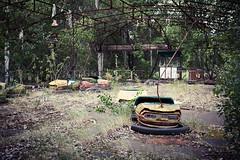 Bumper Cars (dd) Tags: park cars abandoned amusement power decay nuclear fair ukraine bumper disaster powerplant derelict zone npp verlassen chernobyl exclusion kernkraft katastrophe tschernobyl atomenergie atomkraft pripyat chernobyldisaster kievoblast atomkraftwerkwerk