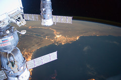Middle East at Night (NASA, International Space Station, 06/04/12)