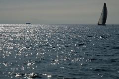 Gazprom on the waves (Gilles 1972) Tags: sea landscape coast countryside vakantie europa europe country jacqueline paisaje slovenia piran  paysage adriatic stijn 2012 landschap kust istri jetske pirano sloveni  prian pejzao adriatischezee gulfofpiran mei2012 baaivanpiran golfvantrist gillesdenbandt