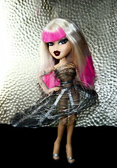 "Bratz Next Super Model - Week 9: ""Gaga 4 Gaga"" - Silvia (Pinky Bratz) Tags: pink hot beautiful beauty fashion metal lady america ga hair photography weird photo crazy high wire model doll pretty shoot dolls dress photoshoot modeling top gorgeous models pinky next wig blonde statement stunning bangs americas brats gaga bratz dollz modelz bntm dntm ladygaga bntsm"