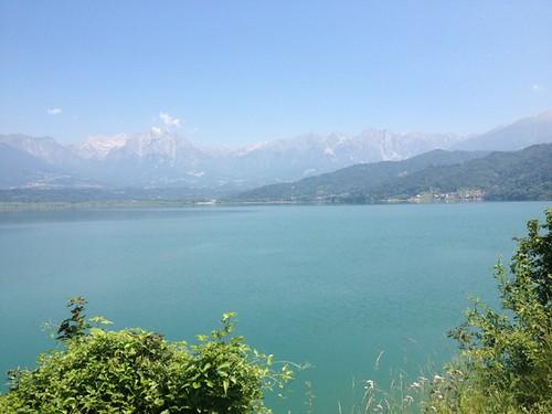 At Lago di Santa Croce