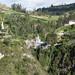 Il santuario di Las Lajas da lontano