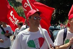 DSC_4978 (i'gore) Tags: roma precari lavoro manifestazione cgil uil lavoratori crescita pensionati fisco occupazione cisl sindacato sindacati disoccupati esodati