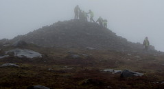 Summit Gathering (dr_urbanus (Martin)) Tags: summit cavan walkers cairn fermanagh cuilcagh irishborder