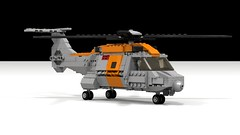 LTH-3B SAR (Quogg) Tags: rescue search lego military transport cargo helicopter sar ldd