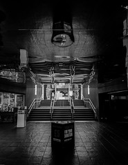 Reflectorium (subterraneancarsickblues) Tags: blackandwhite bw art canon hall gallery entrance baltic gateshead lobby tyneside tyneandwear balticcentre sigma18250mm eos550d rebelt2i kissx4digital
