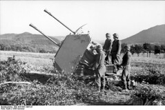 3.7cm Flakzwilling 43, France 1944
