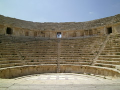 Amphitheater (LarrynJill) Tags: travel vacation ruins middleeast jordan 2014 jarash