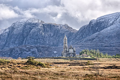 Giant's Head & Church of the Sacred Heart (Gareth Wray - 8.5 Million Views -Thank You) Tags: county old ireland winter wild summer vacation sky irish mountain holiday snow mountains tourism church nature way giant lens landscape photography countryside site nikon europe day photographer mt view heart outdoor head heather famous sigma chapel landmark visit location tourist eire glen atlantic snowcapped mount valley giants sight poison moor grassland legend capped gareth donegal mts grassy poisoned wray errigal gweedore strabane balor dunlewey sacret d810 derryveagh 150500mm arduns