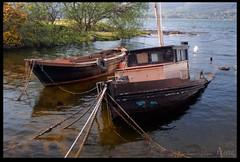 Brodick Boats 2 (zweiblumen) Tags: uk boats scotland alba brodick isleofarran polariser northayrshire eileanarainn canoneos50d zweiblumen breadhaig
