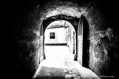 Theresienstadt (A.Nilssen Photography) Tags: camp bw white black konzentrationslager prison theresienstadt kl mala kz lager concentrationcamp gestapo terezin smallfortress pevnost