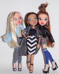 Duh we gorgeous! (jesnaidy) Tags: dolls dynamite bratz cloe nevra meygan