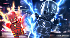 LEGO CW : Zoom - Preview (MGF Customs/Reviews) Tags: allen lego teddy zoom grant sears flash barry figure cw hunter custom minifigure the gustin zolomon