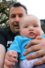 Selfie with William (Jon Pinder) Tags: canon powershot s100