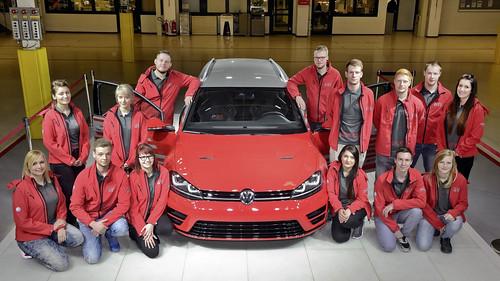 Volkswagen Golf R Variant Performance 35 concept