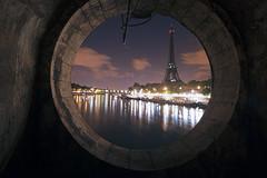ptiteLucarne (FoKus!) Tags: paris urbex night nuit lost underground souterrain tour eiffel france