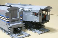 Dreyfuss_Hudson_17 (SavaTheAggie) Tags: lego steam engine locomotive hudson 464 henry dreyfuss new york central system nyc railroad train trains streamlined streamliner j3a