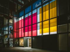 PAUL SMITH (hans-johnson) Tags: china city sky urban building architecture night paul shanghai centre 28mm smith center kerry stadt jingan gr    grdigital   paulsmith ricoh  sola ricohgr  sora kerrycentre   grd  apsc   vsco  jingan pentaxricoh