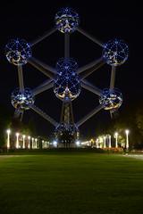 Atomium (larry_antwerp) Tags: brussels iron belgium belgi brussel atomium  atom ijzer     atoom