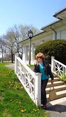 Spring! (Laurette Victoria) Tags: sunglasses spring pants auburn jeans jacket milwaukee lakepark laurette