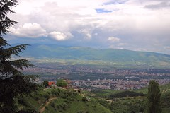 Macedonia (Vardar plain) Overview of Skopje
