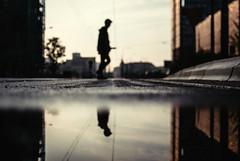 Zeylandia (ewitsoe) Tags: street morning urban reflection 35mm mirror nikon cityscape poznan poalnd urbanstyle ewitsoe sunrisenikond80