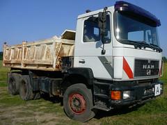 MAN 27.402 (Vehicle Tim) Tags: man truck tipper f90 kipper lkw m90