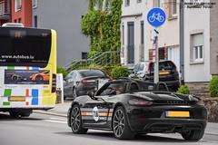 Porsche 718 Boxster (Alexandre Prvot) Tags: auto cars car sport automobile european parking transport automotive voiture route exotic luxembourg lux supercar luxe berline exotics supercars ges dplacement worldcars grandestsupercars