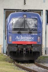 1216 019 / E 190 019 - Taurus Achenseeschiffahrt (NIKON D7200) Tags: austria tirol sterreich taurus tyrol innsbruck bb lokomotive lok achensee