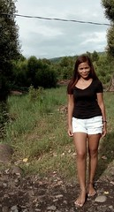 The other corner of our little town #barefoottowngirl #barefoot #filthyfeet (pinay barefoot) Tags: barefoot filthyfeet barefoottowngirl