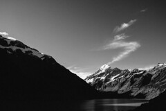 Photo (One Potato Steph) Tags: new trip travel newzealand vacation blackandwhite me nature monochrome make up last trekking for nikon flickr peace with you bio roadtrip right thank zealand nz link d750 always choice 24mm traveling moment  capture 4h dull bnw blogpost mountcook hookervalleytrack reminding travelphotographer yourshot bwphotooftheday bwlover bnwsociety bwsociety instablackandwhite natgeotravel twentytwopotatoes guardiantravelsnap