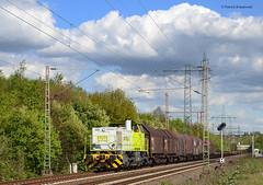 Captrain 404 (vsoe) Tags: railroad train germany deutschland engine eisenbahn railway bahn freighttrain zge gterzug gterzugstrecke