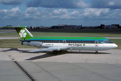 EI-ANE-1-EGLL-SEP1988 (Alpha Mike Aviation Photography) Tags: heathrow aerlingus lhr bac oneeleven egll bac111 bac111111eianelondon